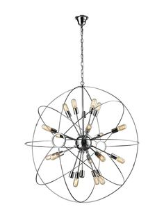 Large Galaxy Chandelier from Top Sellers: Art & Lighting on Gilt