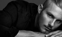 Get the Style from Alexander Ludwig Photoshoot for Justin Campbell