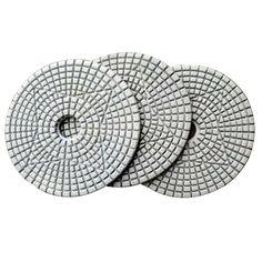 Resin Diamond Floor Polishing Pad is used for concrete, stone, terrazzo floor medium to fine grinding. Grinding Machine, Terrazzo Flooring, Concrete, Resin, Tools, Stone, Diamond, Instruments, Rock