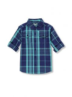 Mix Apparel - Collection - Window Pane Plaid Shirt