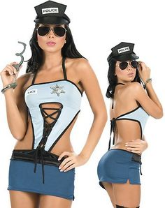 police officers halloween costumes - Girls Cop Halloween Costume
