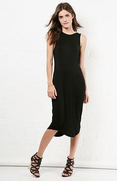 PREMONITION Flume Singlet Knit Dress in Black XS - L | DAILYLOOK