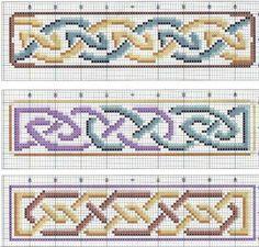 Brilliant Cross Stitch Embroidery Tips Ideas. Mesmerizing Cross Stitch Embroidery Tips Ideas. Celtic Cross Stitch, Cross Stitch Borders, Counted Cross Stitch Patterns, Cross Stitch Designs, Cross Stitching, Cross Stitch Embroidery, Celtic Patterns, Celtic Designs, Cross Stitch Bookmarks