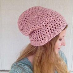 Crochet Slouchy Beanie Slouchy Hat Multiple by SarahRuthCrochet, $15.00