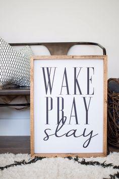 Wake Pray Slay- Thin