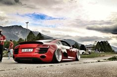 """This R8 with these Messer wheels is """"the car"""" of this years Wörthersee..."""