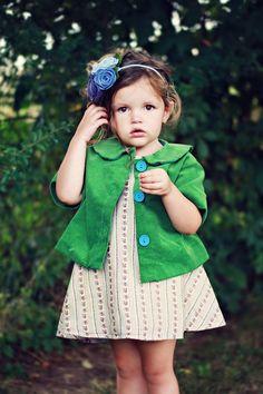 Molly Jacket Pattern by Violette Field Threads