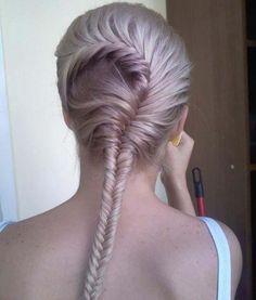 strange braided hair style~~~