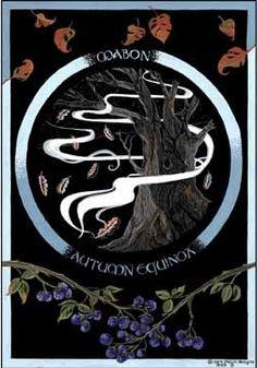 Mabon - Autumn Equinox by Jane Brideson