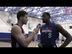 LA Clippers Bloopers ahahaha so funny! I love blake at the video camera and deandre with his chicken LOL