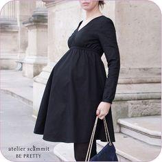 Patron Atelier Scämmit robe de grossesse Be pretty