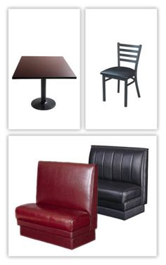 On pinterest restaurant furniture restaurant booth and metal chairs