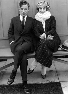 Anna Pavlova and Charlie Chalin at the Chaplin Studios, c. 1922 #dancefashion
