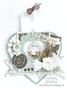 Magic Stamping Card - Fall in Love