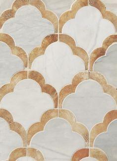 Unbelievable luxurious tile.