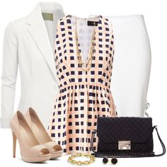 """On the Grid"" by mz-happy on Polyvore"