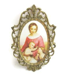Italian Filigree Frame by GrannyBeansBoutique on Etsy