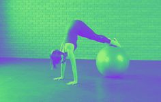 The 4-Move Stability Ball Circuit That'll Work Your Butt, Back, and Core | Women's Health Magazine