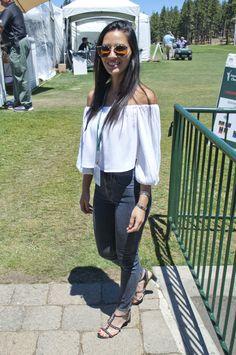 Olivia Munn at Century Celebrity Golf Tournament South Lake Tahoe 7/22/16