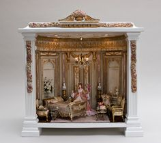 Ladie's Boudoir (jt-beautiful room box by Bluette Meloney)
