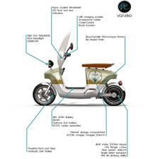 Be.e electric scooter specification