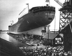 Launch of the Edmund Fitzgerald June 8 1958 for http://ift.tt/2gUqHTb
