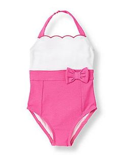 Janie & Jack Girl's Swimsuit