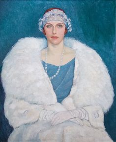 Randolf-Stanley Newton, Miss Mary Macintosh, 1924