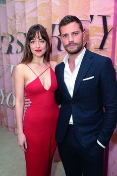 Jamie Dornan and Dakota Johnson at the 'Fifty Shades Freed' Premiere in Los Angeles February 2018 Estilo Dakota Johnson, Dakota Johnson Stil, Dakota Mayi Johnson, Jamie Dornan, Fifty Shades Movie, Fifty Shades Trilogy, Christian Grey, Fashion Mode, Look Fashion
