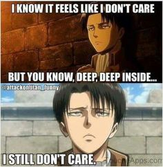 XD. Oh jeez, Levi will always be Levi after all.