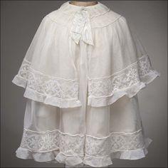 Tulle Lace Dress w/Cape