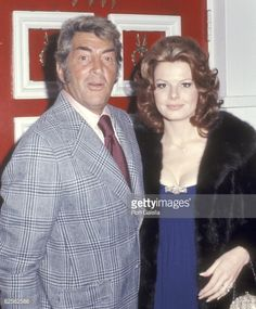 Dean Martin Wife | Actor/Singer Dean Martin and wife Catherine Hawn on January 28, 1973 ...
