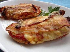 Cocinando para ellos : PECHUGAS DE POLLO A LA ITALIANA