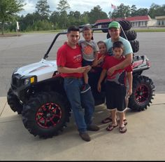 Thanks to Rando and Khaled Cordoba, and Issac, Lester Jr., and Lester Delgado Sr. from Laurel MS for getting a 2016 Polaris RZR 570 at Hattiesburg Cycles