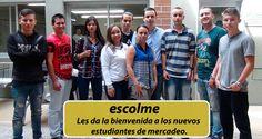 Este es el nuevo grupo de futuros marketeros ESCOLME. ¡BIENVENIDOS A ESTE SU SEGUNDO HOGAR!