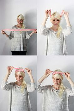 how to style a ban.do twist scarf by chelseabirdd