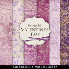 New Freebies Background Kit - Valentine's Day:Far Far Hill - Free database of digital illustrations and papers Papel Scrapbook, Digital Scrapbook Paper, Scrapbook Supplies, Scrapbook Pages, Digital Papers, Digital Paper Freebie, Digital Scrapbooking Freebies, Zentangle, Mickey Mouse Clubhouse