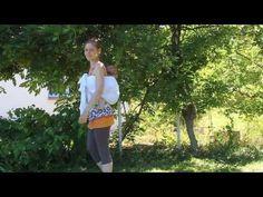 Rebozo 3 façons : pagne, sling, hamac - YouTube