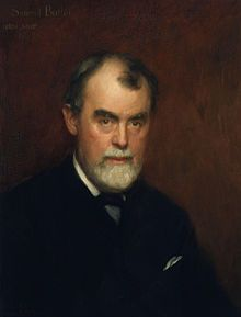 Samuel Butler (4 December 1835 – 18 June 1902) was an iconoclastic Victorian-era English author who published a variety of works. Two of his most famous pieces are the Utopian satire Erewhon and a semi-autobiographical novel published posthumously, The Way of All Flesh. He is also known for examining Christian orthodoxy, substantive studies of evolutionary thought, studies of Italian art, and works of literary history and criticism.