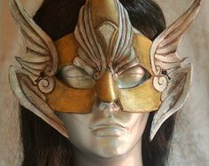 seraphim warriors | MADE TO ORDER Seraphim Archangel An gel Warrior Winged Valkyrie Helmet ...