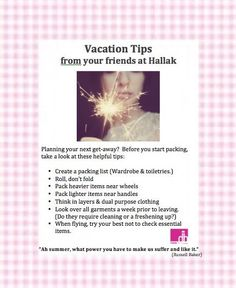 Before you head out on your next adventure, check out our helpful vacation tips! #Travel #Vacation