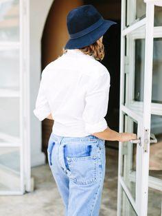 This Fashion DIY Expert Recreates Vetements' Cult Jeans via @WhoWhatWearAU