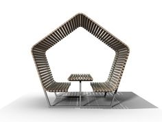 Urban Shelter by @Kebony Smith Smith ASA  #furniture