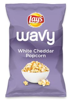 Wouldn't White Cheddar Popcorn be yummy as a chip? Lay's Do Us A Flavor is back, and the search is on for the yummiest chip idea. Create one using your favorite flavors from around the country and you could win $1 million! https://www.dousaflavor.com See Rules.