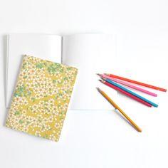Carnet de notes tapissé de papier japonais - Adeline Klam