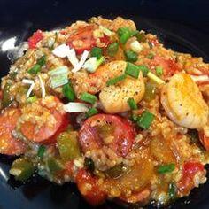 Sausage & Shrimp Jambalaya Recipe on Yummly