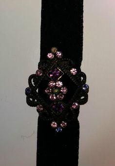 Gothic choker necklace (VINTAGE)