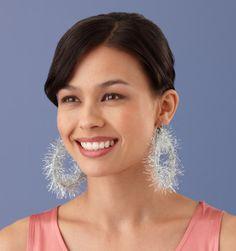 interesting use for that eyelash yarn ...