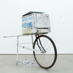 This is evident in projects such as Global Street Food, an exhibition curated by Mike Meiré for kitchen brand Dornbracht in 2009 and which consisted of vernacular food stalls from around the world gathered together in a gallery as a kind of junk art installation. Exhibits included a grill mounted on a bicycle wheel from Zaire and a cheese stand improvised from a shopping trolley.