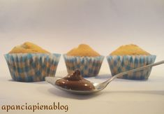 Muffins con cuore alla nutella (ricetta tradizionale e bimby)
